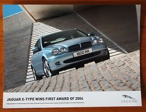 Jaguar X- Type Wins First Award of 2004  - Colour Press Publicity Photo