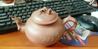 Vintage Chinese antique yixing zisha teapot handmade factory one Master Piece