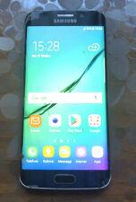 Samsung Galaxy S6 Edge SM-G925T Smartphone telefono cellulare con vetro rotto