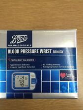 Blood Pressure Wrist Monitor 90 reading Memory