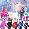 Child Kids Warm Waterproof Snow Snowboard Ski Cycling Outdoor Sports Gloves PAN