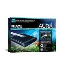 Fluval Aura LED-Vollspektrum-Beleuchtung für kleine Süßwasseraquarien Neu A3972