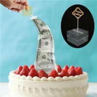 Cake ATM Surprise Birthday Cake Topper Money Box Funny Cake ATM Happy Birthday