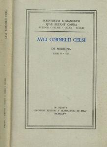 DE MEDICINA. LIBRI V-VIII. 1975. .