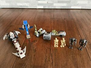 Lego Star Wars LOT Battle on Saleucami Luke's Landspeeder Tank 75037 8092 75182