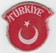 OSS Trained Rare Turkiye Troops In Korea Bevo Style Patch Inv# 981