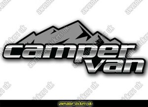 2 x 300mm Campervan stickers 079 decal VANLIFE Motorhome camper van Transporter