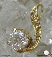 Brillantanhänger Diamantanhänger Anhänger mit Brillant Solitär 585 Gold