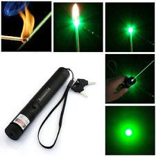 600Miles Green Tactical Laser Pointer Pen 532nm Visible Beam Astronomy Lazer USA