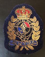 Vintage Austin Reed New York Clothing Emblem 3.5� X 3�