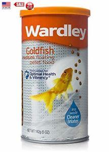 Wardley Goldfish Medium Floating Pellet Food 5 oz