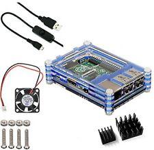 Raspberry Pi 3 Model B Pi 2 Desktop Starter Kit Power Supply Computer