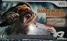 Cabela's Dangerous Hunts 2013 with Gun for Nintendo Wii *BRAND NEW *