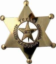 Sheriff Stern US Texas Rangers Sheriffstern Western Cowboy USA Pin Anstecker