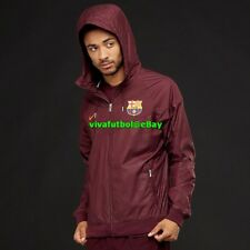 694f83168 NEW Nike Mens FC Barcelona 17 18 NSW Authentic Windbreaker Windrunner  Jacket 2XL