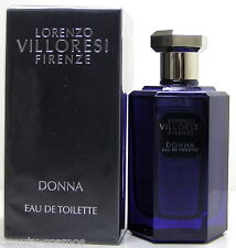 Lorenzo Villoresi Firenze Donna 100 ml EDT Spray Neu OVP