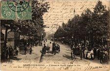 CPA NEUILLY sur SEINE Avenue de Neuilly pendant le Féte (412814)