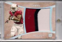 Stepfan Taylor 2013 Five Star 3-Color Rookie RC Jumbo Patch Card /5 Cardinals