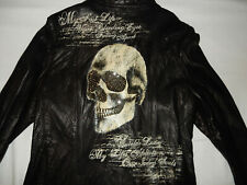 Jaded by Knight Leather Jacket designed by Amiri handmade in USA