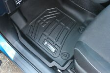 Toyota Tundra Double Cab 2007 - 2011 Sure-Fit Floor Mats Liners Front - Black