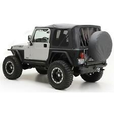 Smittybilt 9970235 Soft Top Oem Replacement W/Tinted Windows Blk Diamond Jeep TJ