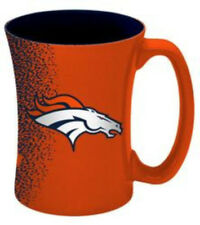 Denver Broncos Coffee Mug - 14 Oz Mocha Coffee