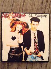 ALEX Y CHRISTINA - El Souvenir - Single Promo - 1989
