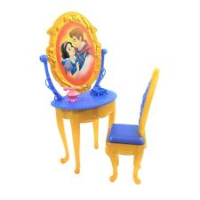 Disney Princess Ultimate Dream Castle Dollhouse Snow White Vanity and Chair