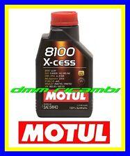 Olio Motore Auto MOTUL 8100 X-CESS 5W40 BMW FIAT OPEL PORSCHE RENAULT VOLKSWAGEN