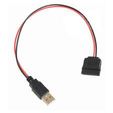 P52 USB Stecker auf SATA 15pin Kabel Adapter Stromkabel für PC SATA Festplatte