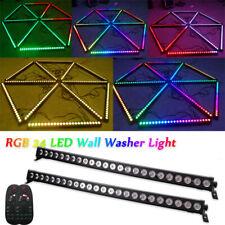 2PCS 72W RGB 24 LED Light Bar Wall Washer Light DMX DJ Disco Wedding Stage Light