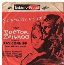 "Ray Conniff - Somewhere My Love 7"" Single 1966 / Doctor Zhivago"