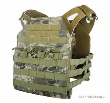 DLP Tactical WRAITH JPC MOLLE plate carrier vest in Highland Serpent