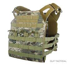 DLP Tactical WRAITH JPC MOLLE plate carrier vest in Kryptek Highlander