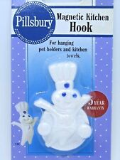 NIP 1992 Pillsbury Doughboy Magnetic Kitchen Hook - Poppin Fresh Magnet Hanger