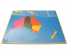 New Montessori Geography Material- Puzzle Map of Australia