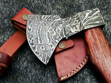 """New Beautiful Handmade Damascus Steel Axe """"Unique Axe"""" Limited Edition Wd-9417"""