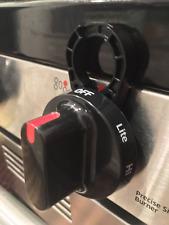 Stove Stoppaz Universal Kitchen Stove Knob Locks, 5 Count, Black