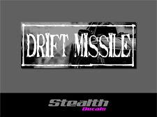 Drift Missile Drift Slap Sticker Decal, Stance, Initial D V2