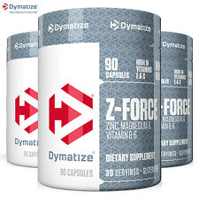 Z-FORCE Anabolic Pills Testosterone Booster Muscle Gain Growth Sleeping Aid ZMA