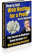 Web Hosting, Reseller,Ebook / Master resell license, Websites, internet, Money
