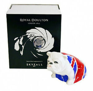 "Royal Doulton Bulldog ""JACK"" - James Bond Skyfall 007  Brand New in Original Box"