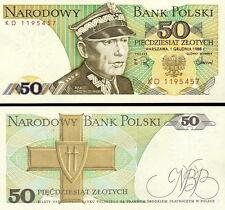 POLONIA Poland - 50 Zlotich 1988 FDS - UNC