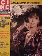 ▬► 1980 Ciné Revue 5 Claudia Cardinale Ornella Muti Michael Douglas S.McQueen