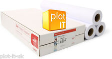 3 Rolls Canon - OCE IJM021 90g/m² 594mm X 110m Plotter Paper Inkjet Printing