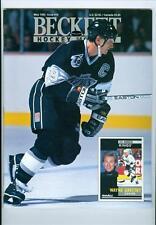 1992 Beckett Hockey Card Monthly: Wayne Gretzky-Kings/Tony Amonte-Rangers