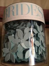 Brides Blue Shimmer Table Confetti