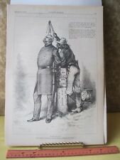 Vintage Print,MASTER+SLAVE,Thomas Nast,Harpers,Politics,Oct 1880
