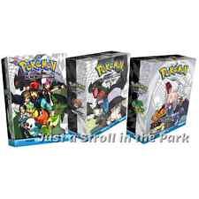 Pokemon Adventures Anime Manga: Complete Black & White Vols 1-20 Boxed Sets 1-3