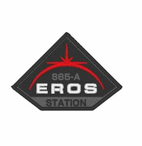 """E0120 TV/MOVIE PATCH THE EXPANSE - """"EROS STATION"""" PATCH EMBROIDERED"""